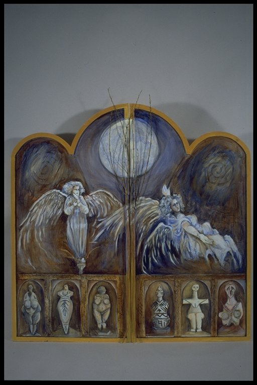 """Alter - Altar Piece Closed 48X48"""" SOLD"""