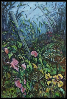 """""""Not So Sweet Peas"""" 24x36"""" SOLD"""