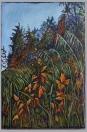"""""""Along the Way"""" 24x36"""" Acrylic & mixed media on canvas $890"""