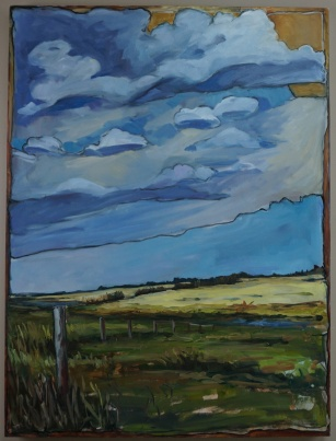 """""""After The Storm"""" 30X40 Oil on Panel $1,040"""