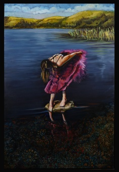 """""""Still as Glass"""" 24x36 Oil on Panel Sold"""