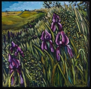 """""""Once They Were Tame"""" 24X24"""" Oil on canvas $715"""