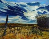 """""""Golden Hour"""" 30X24"""", Acrylic on canvas $800"""