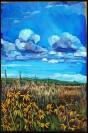 """""""Prairie Bouquet"""" 24X36"""" Acrylic on canvas, $890"""