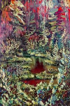 """Mistohay Creek"" 24X36"" Oil on canvas $890"
