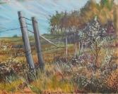 """""""Summertime Walk"""" 30X24"""" Acrylic on canvas $800"""