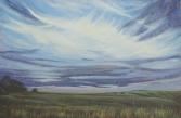 """Velvet Twilight"" 36X24"" Acrylic on canvas $890"